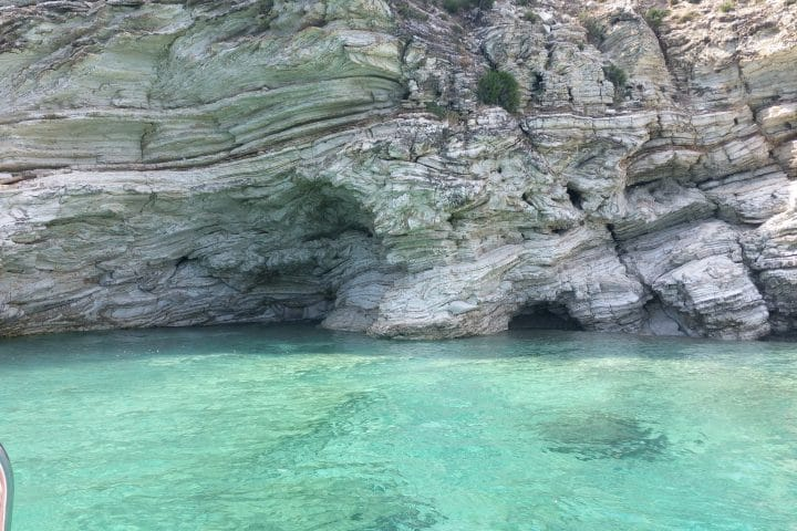 Rock Formation in the Adriatic