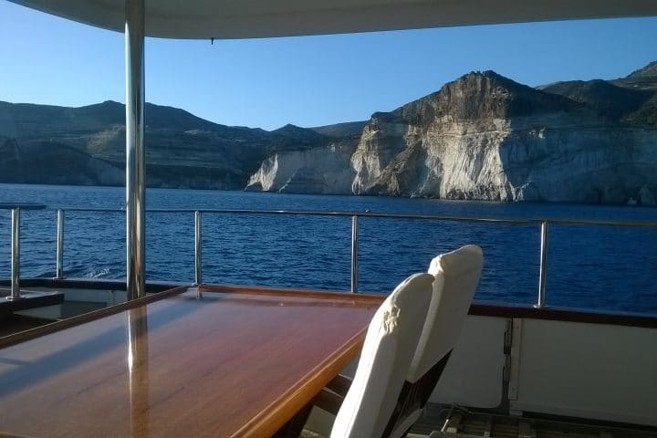 Cliffs from the Deck