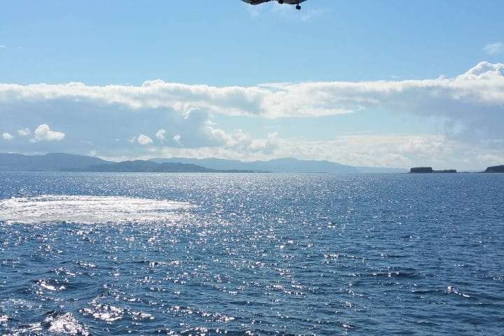 Training with the Coastguard in the Sound of Mull