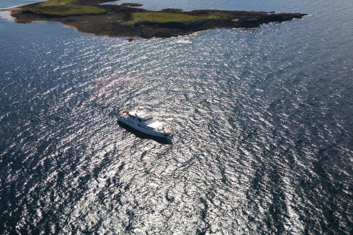 Lying off Skye