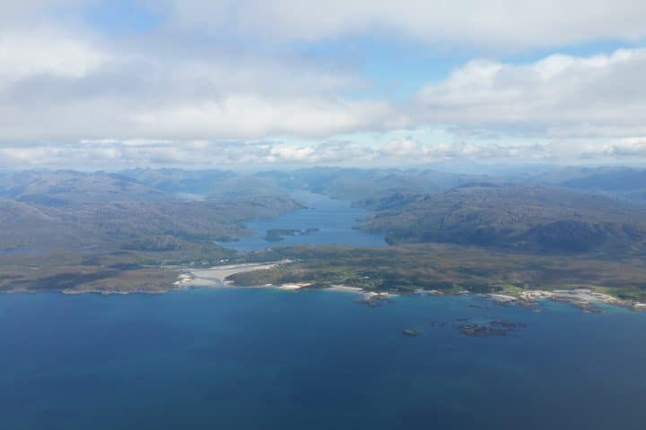Aerial View of Skye