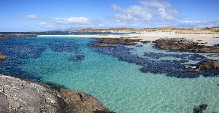Sanna Bay on the Ardnamurchan Penninsula.