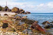 Fallen Rocks at Sannox on the Isle of Arran