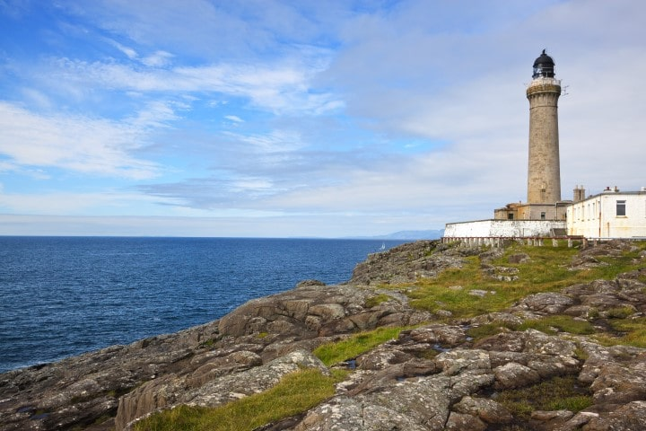 Ardnamurchan Lighthouse, Kilchoan, Acharacle, Scotland. The most westerly point on the British Isles mainland.