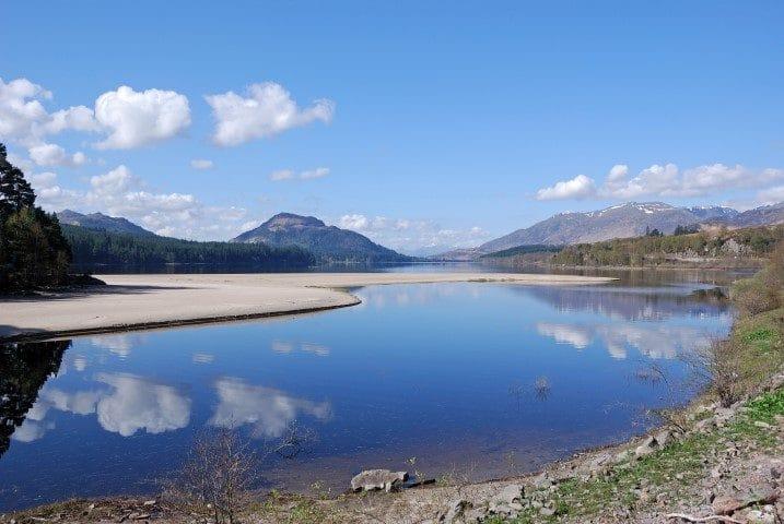 Sands at Loch Laggan