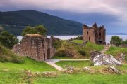 Le chteau du Loch Ness en Ecosse