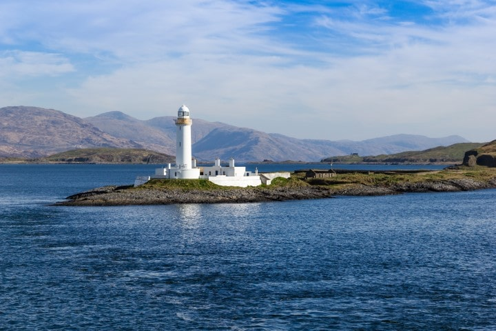 Eilean Musdile, or Mansedale, is an islet, and lighthouse to the south west of Lismore in the Inner Hebrides.
