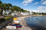 Plockton village in the Highlands, Scotland